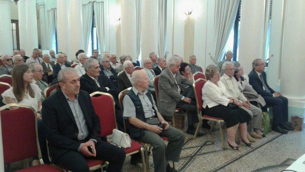 Ο Σωκράτης Βαρδάκης στην παρουσίαση του βιβλίου του Αντιστράτηγου εν αποστρατεία Μπίκα Χρίστου