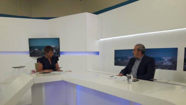 Συνέντευξη του Σωκράτη Βαρδάκη στην εκπομπή Live με την Αντιγόνη (TV Creta)