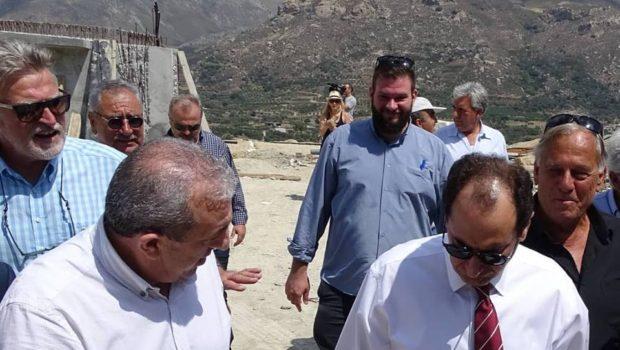 Υπογράφηκε η χρηματοδότηση για τον δρόμο Ηράκλειο – Μαλάδες
