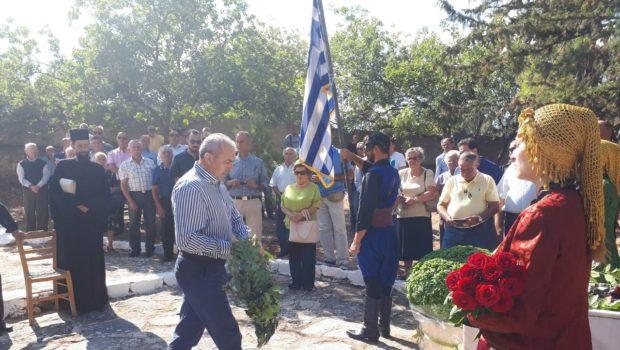Ο Σωκράτης Βαρδάκης στις εκδηλώσεις μνήμης σε Δαμάστα και Μάραθο