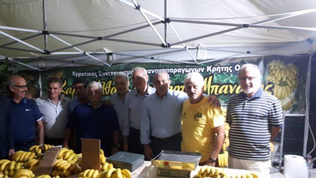Στο φεστιβάλ μπανάνας στην Άρβη Σωκράτης Βαρδάκης