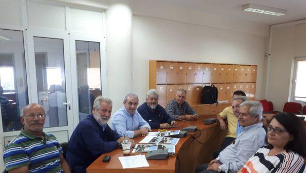 Συνάντηση Σωκράτη Βαρδάκη με τον Δήμαρχο Μαλεβιζίου