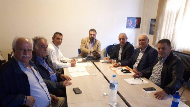 Τα προβλήματα των Συνεταιρισμών και η μη καρπόδεση ελαιοδέντρων στη συνάντηση στο Υπουργείο Αγροτικής Ανάπτυξης