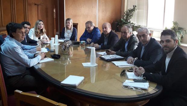 Συνάντηση στον ΕΦΚΑ για την εύρυθμη λειτουργία του Οργανισμού