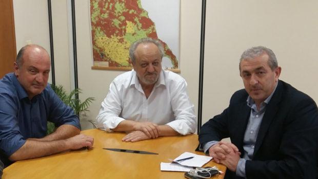 Συνάντηση Σωκράτη Βαρδάκη με τον Πρόεδρο του ΕΛΓΑ