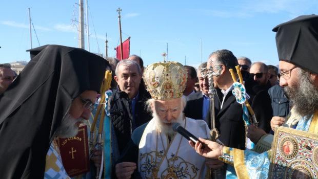 Ευχές Σωκράτη Βαρδάκη για την εορτή των Θεοφανείων