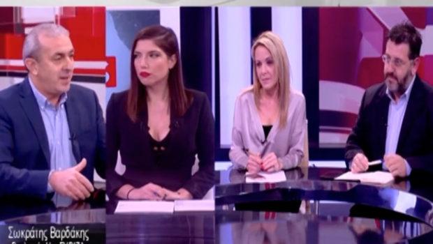 Ο Σωκράτης Βαρδάκης στο Δελτίο Ειδήσεων του TV Creta