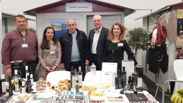 Σωκράτης Βαρδάκης: «Συγχαρητήρια στους παραγωγούς, τους μεταποιητές και τους κτηνοτρόφους στην προσπάθεια προβολής των τοπικών μας προϊόντων»