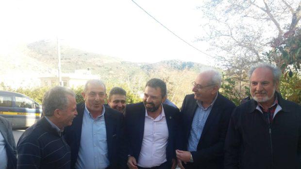 Επισκέψεις Υπουργού Αγροτικής Ανάπτυξης και του Σωκράτη Βαρδάκη σε ομάδες παραγωγών και συνεταιρισμούς στη Βιάννο