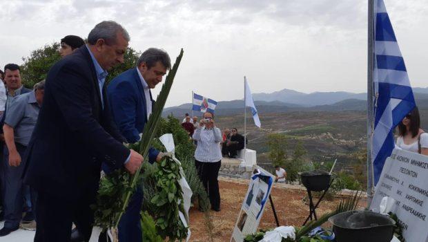 Στην τελετή μνήμης της Μάχης του Κοψά ο Σωκράτης Βαρδάκης
