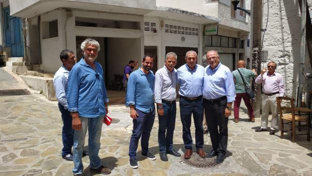 Επίσκεψη υποψηφίων ευρωβουλευτών και Σωκράτη Βαρδάκη στον Κρουσώνα