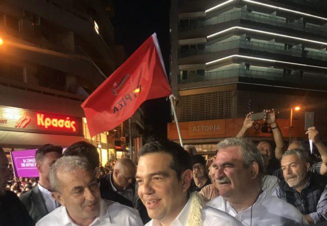 Από την προεκλογική ομιλία του Πρωθυπουργού Αλέξη Τσίπρα στην Πλατεία Ελευθερίας