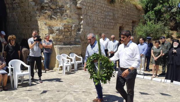 Σωκράτης Βαρδάκης: «Να διατηρούμε την μνήμη των αγωνιστών που θυσιάστηκαν στο όνομα της ελευθερίας»