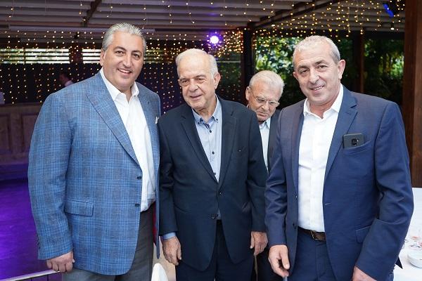 Στην εκδήλωση της 6ης Παγκόσμιας συνάντησης Απόδημου Ελληνισμού με τον Δήμαρχο Ηρακλείου κ. Λαμπρινό και τον πρόεδρο της ΠΑΕ ΟΦΗ κ. Μπούση