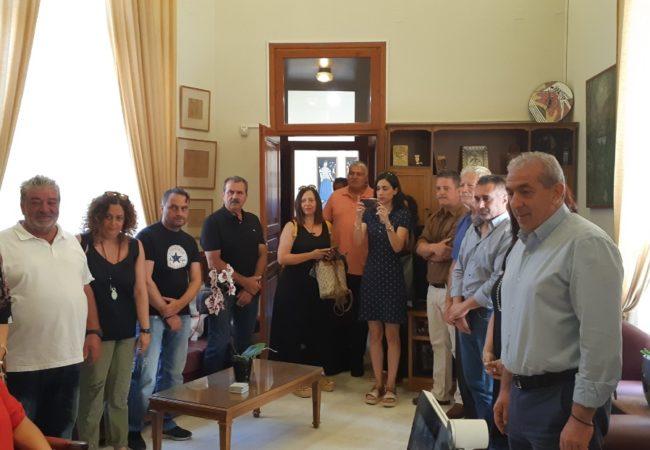 Στην ορκωμοσία νέων εργαζομένων του Δήμου Ηρακλείου, σύμφωνα με το Άρθρο 82 του ν. 4483/17