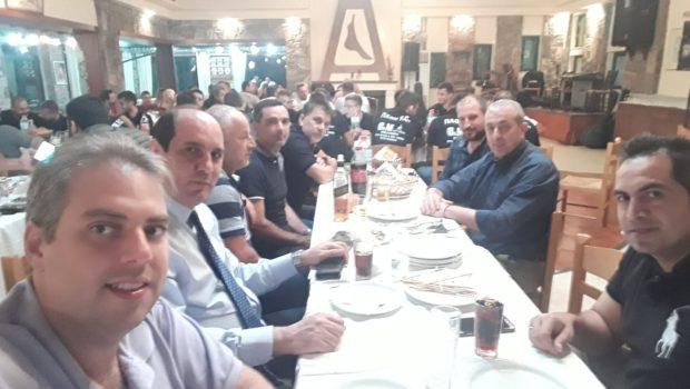 Στην παρουσίαση της ομάδας ΠΑΟΚ Κρουσώνα ο Σωκράτης Βαρδάκης