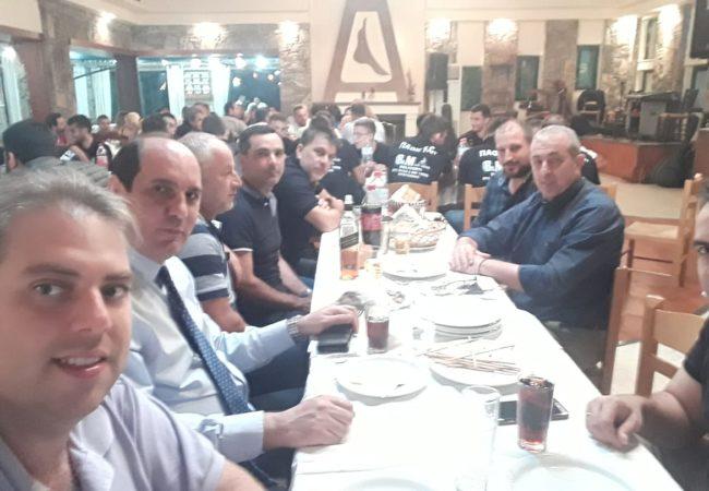 Στην παρουσίαση της ομάδας ΠΑΟΚ Κρουσώνα για την αγωνιστική περίοδο 2019-2020