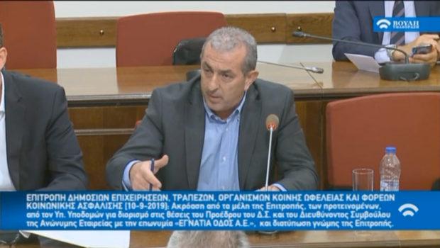 Σημαντικά έργα στην Κρήτη τα τελευταία χρόνια –  Καθημερινή συζήτηση για τον ΒΟΑΚ και άμεση έγκριση του έργου για το «Φράγμα  Αμιρών- Αγίου Βασιλείου» ζήτησε ο Σωκράτης Βαρδάκης