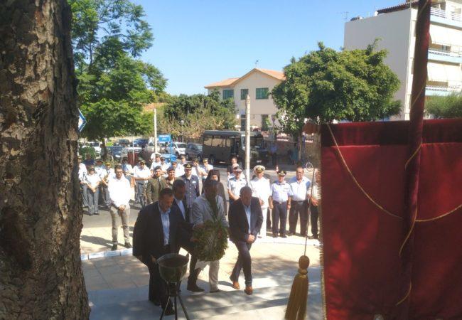 Στις εκδηλώσεις για την Ημέρα Εθνικής Μνήμης της γενοκτονίας των Ελλήνων της Μ. Ασίας από το Τουρκικό Κράτος
