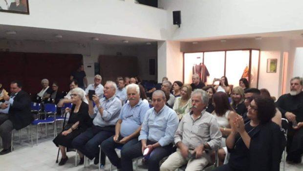 Σωκράτης Βαρδάκης: «μεγάλη συνεισφορά για την ιστορία του τόπου μας το αρχείο Ραπτόπουλου, συγχαρητήρια στην κα Μανουκάκη – Μεταξάκη που το ανέδειξε»