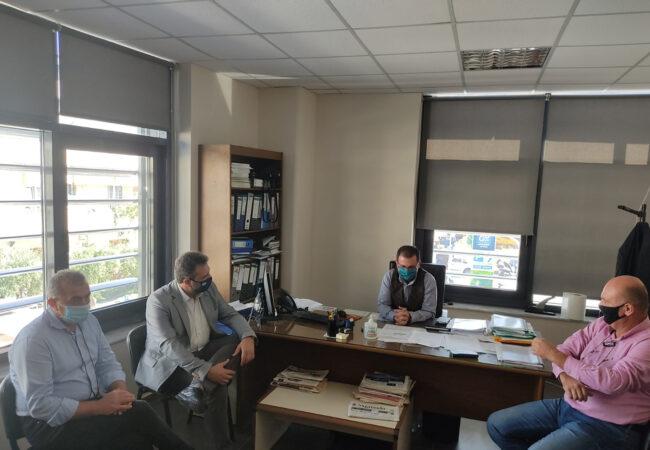 Επίσκεψη στα γραφεία του ΕΛΓΑ με τον Τομεάρχη ΣΥΡΙΖΑ Σταύρο Αραχωβίτη