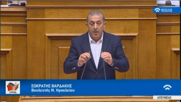 Σωκράτης Βαρδάκης: «Να στηριχθεί η ελληνική ελαιοπαραγωγή»