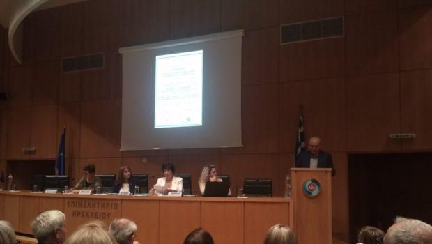 Χαιρετισμός Σωκράτη Βαρδάκη στην εκδήλωση του Δικτύου Παρέμβασης Γυναικών Κρήτης