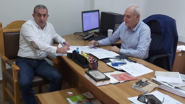 Έργα αρμοδιότητας Περιφέρειας Κρήτης το αντικείμενο συνάντησης Σωκράτη Βαρδάκη με τον Πρόεδρο του Περιφερειακού Συμβουλίου Κρήτης