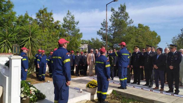 Σωκράτης Βαρδάκης: «Τιμή στους πεσόντες πυροσβέστες, που χάθηκαν εν ώρα καθήκοντος»