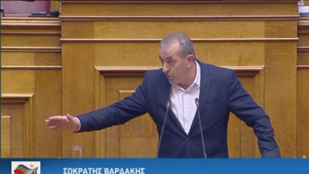 Σωκράτης Βαρδάκης: «Ο εργασιακός μεσαίωνας εγκαθίσταται με υπογραφή της ΝΔ»