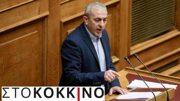 """Σωκράτης Βαρδάκης στο Κόκκινο Αθήνας: """"Το κοινωνικό κράτος χάνεται στην κανονικότητα της σημερινής Κυβέρνησης"""""""