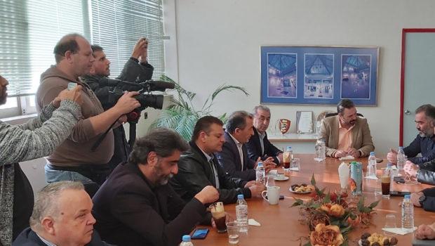 Σύσκεψη στην Ένωση Ηρακλείου για τα προβλήματα των ελαιοπαραγωγών
