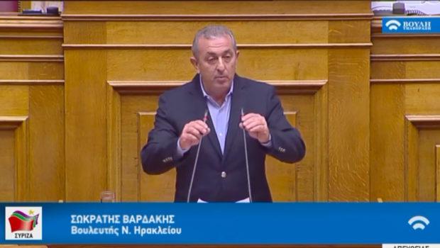 Σωκράτης Βαρδάκης: «Το Υπουργείο μετανάστευσης και Ασύλου οφείλει να λάβει σοβαρά υπόψη την πρόταση της ΠΕΔ Κρήτης για την εγκατάσταση προσφύγων και μεταναστών στην Περιφέρεια της Κρήτης»