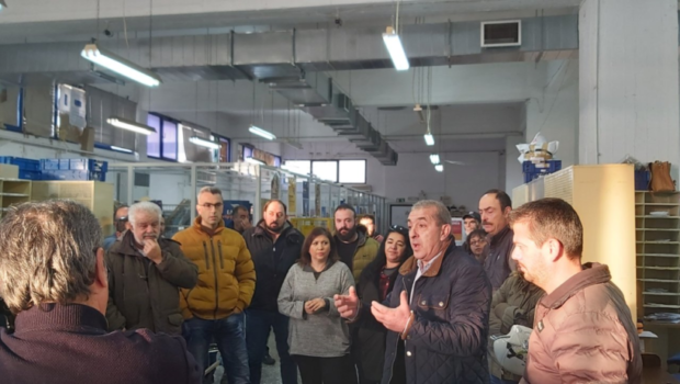 Σωκράτης Βαρδάκης: «Η Κυβέρνηση Μητσοτάκη συνεχίζει τις καταστροφικές πολιτικές εις βάρος του κοινωνικού συνόλου της χώρας. Στόχος τώρα τα Ελληνικά Ταχυδρομεία»