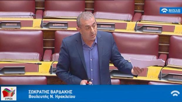 Σωκράτης Βαρδάκης: «Η  Κυβέρνηση συνεχίζει να εμπαίζει τους Δικηγόρους ένα μήνα μετά την ακύρωση της τηλεκατάρτισης»