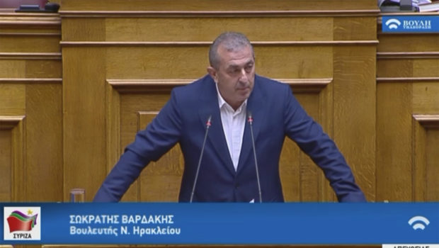 Σωκράτης Βαρδάκης: «Άλλες δύο κατηγορίες πολιτών, εκτός των μέτρων στήριξης της Κυβέρνησης. Εκκρεμείς προσωρινές συντάξεις και μακροχρόνια άνεργοι προστίθενται στην ήδη μεγάλη λίστα των αδικημένων»