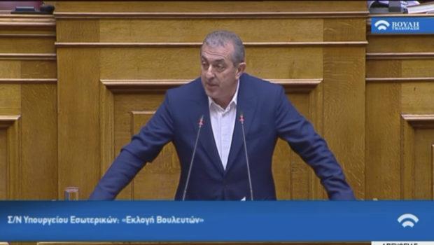 Σωκράτης Βαρδάκης: «Ισχυρό Ράπισμα στη Δημοκρατία από την Κυβέρνηση Μητσοτάκη μέσω του Εκλογικού Νόμου»