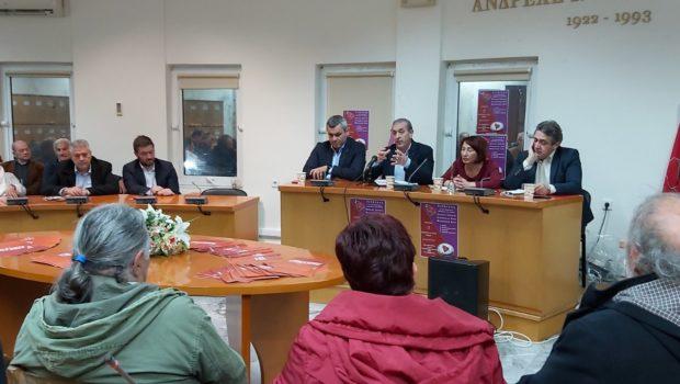 Σωκράτης Βαρδάκης: «Η κυβέρνηση Μητσοτάκη επαναφέρει την εργασιακή ζούγκλα στη χώρα». Εκδήλωση ΟΜ Μαλεβιζίου ΣΥΡΙΖΑ
