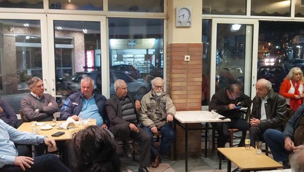 Πολιτικό καφενείο, στις γειτονιές του Ηρακλείου