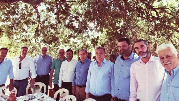 Στην εορτή των Αγίων Πάντων στον Δήμο Βιάννου ο Σωκράτης Βαρδάκης