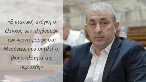 Σ. Βαρδάκης: «Επιτακτική ανάγκη ο έλεγχος των πληθυσμών των λεοντόψαρων στη Μεσόγειο, που απειλεί τη βιοποικιλότητα της περιοχής»