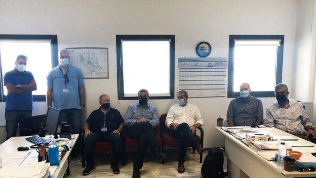 Συνάντηση με εκπροσώπους του Παγκρήτιου Συλλόγου Εργαζομένων Υπηρεσίας Πολιτικής Αεροπορίας και του Συλλόγου Εργαζομένων Αεροναυτιλίας Αεροδρομίου Ηρακλείου.