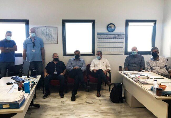 Συνάντηση με εκπροσώπους εργαζομένων στο αεροδρόμιο Ν. Καζαντζάκης του Ηρακλείου