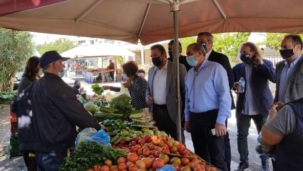 Επίσκεψη του Τομεάρχη Αγροτικής Ανάπτυξης ΣΥΡΙΖΑ – Προοδευτική Συμμαχία, Σταύρου Αραχωβίτη στο Ηράκλειο