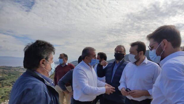 Περιοδεία του Τομεάρχη Υποδομών του ΣΥΡΙΖΑ – Προοδευτική Συμμαχία, Νίκου Παππά – Στους κόμβους της Αγίας Πελαγίας