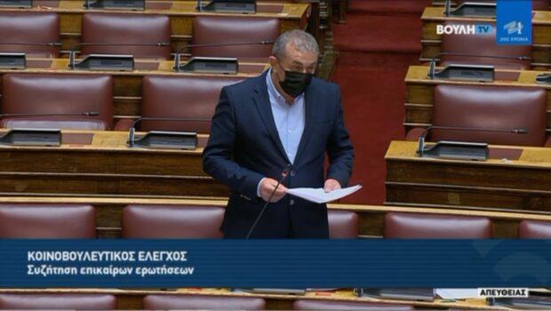 Σωκράτης Βαρδάκης: «Αδιάλλακτη η Κυβέρνηση να μεριμνήσει για τις παράνομες απολύσεις εργαζομένων τουριστικών λεωφορείων»