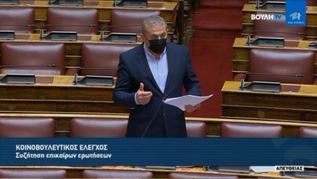 Συζήτηση επίκαιρης ερώτησης Σ. Βαρδάκη για τον αποκλεισμό των αποφοίτων Εσπερινών Λυκείων από τα ΑΕΙ
