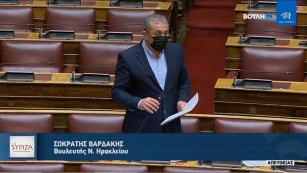 """Σωκράτης Βαρδάκης: """"Ο Υπουργός Υποδομών αναθεωρεί την άποψή του ότι παρέλαβε σκίτσα του ΒΟΑΚ από την προηγούμενη Κυβέρνηση και παραδέχθηκε ότι τα διόδια είναι αναπόφευκτα"""""""