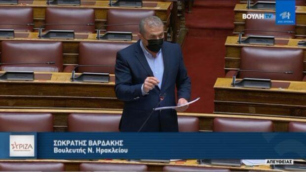 """Σ. Βαρδάκης:"""" Οι Γερμανικές οφειλές δεν παραγράφονται"""""""