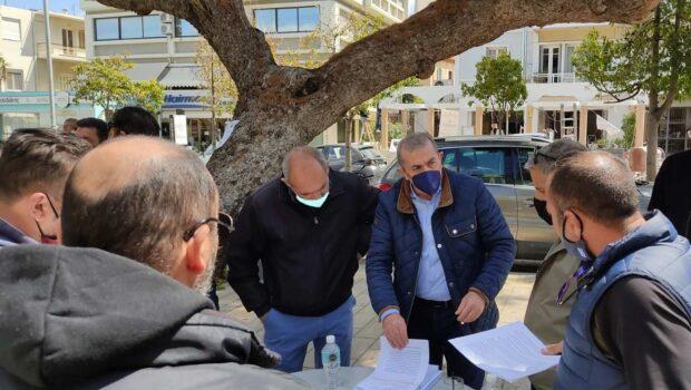 Σωκράτης Βαρδάκης: «Θα είμαστε συμπαραστάτες στον μεγάλο αγώνα που δίνετε, που δεν αφορά…